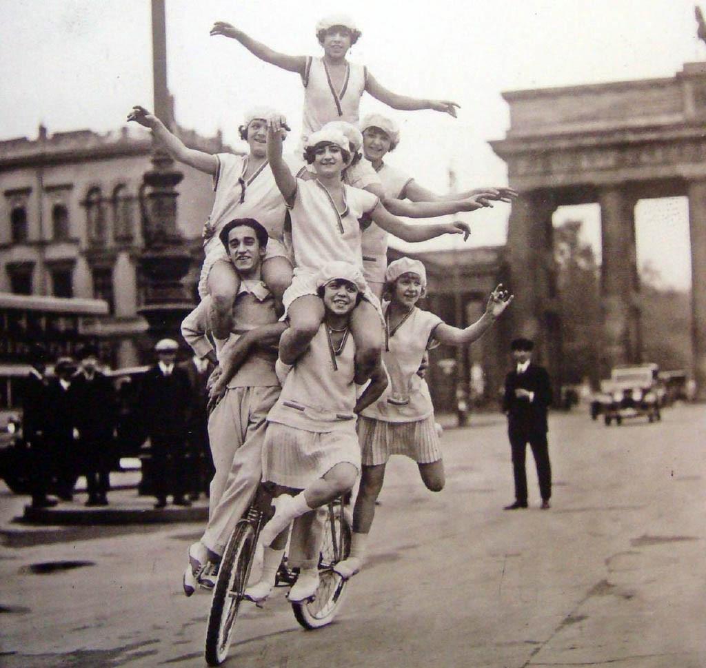 Brandenburg Gate in the 1920s