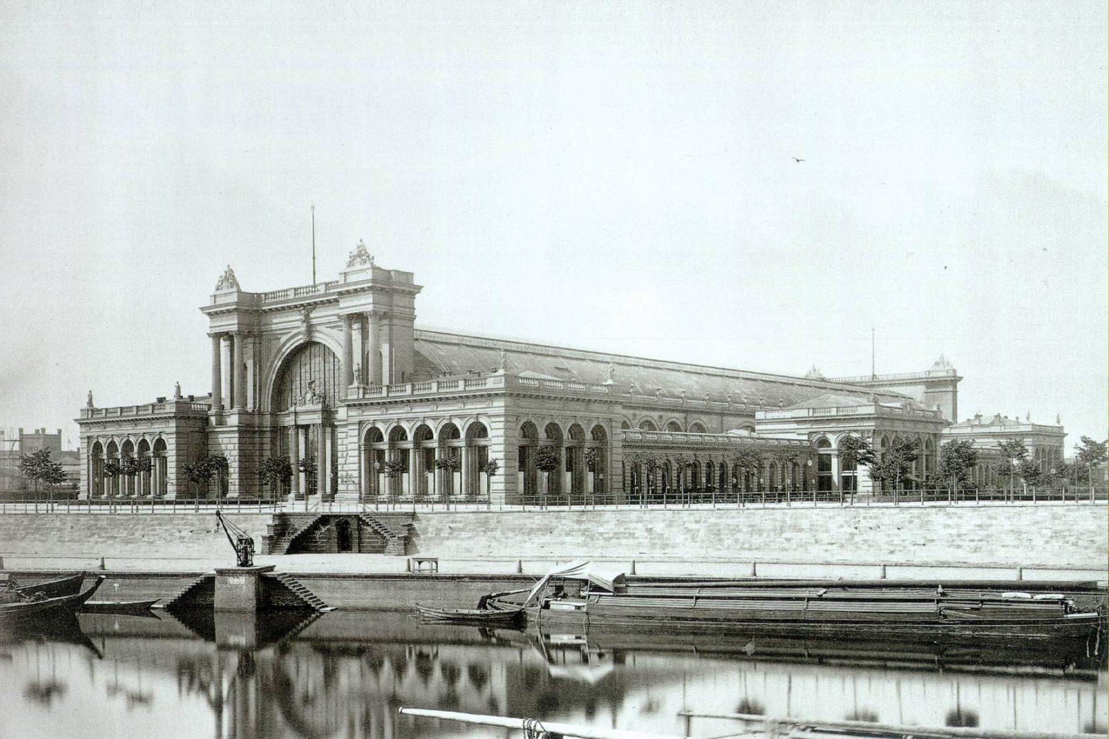 Lehrter Bahnhof in 1879