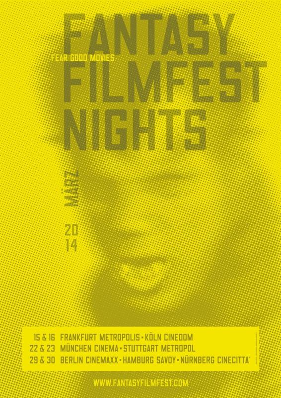 Poster des Fantasy Filmfests 2014. © Fantasy Filmfest Nights