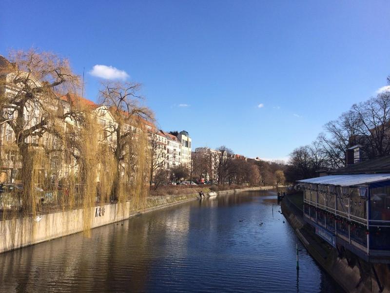Landwehr Canal - Maybach-Ufer