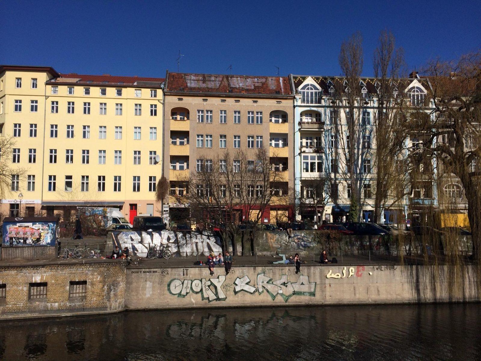 Landwehr Canal - Paul Lincke-Ufer