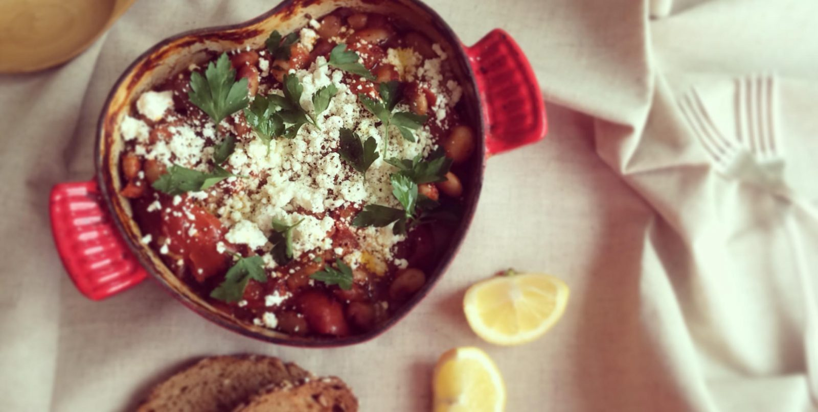 easy backpacker recipes - beans and bread recipe