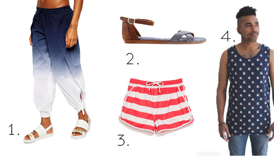 fashionable beach looks 2014