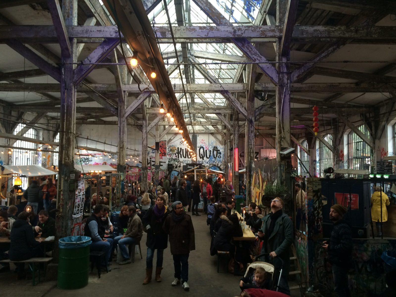Heimat Bazaar Berlin, art and fashion street market
