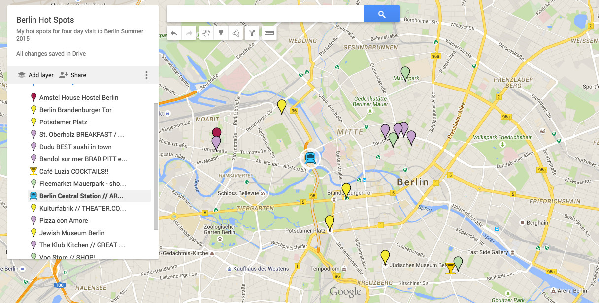 How To Create A Personal Google Maps With My Map