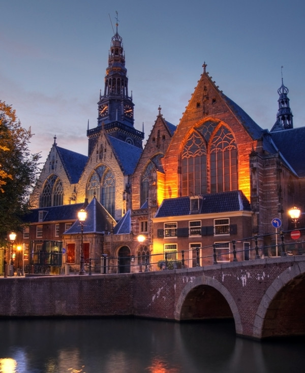 church red light district amsterdam