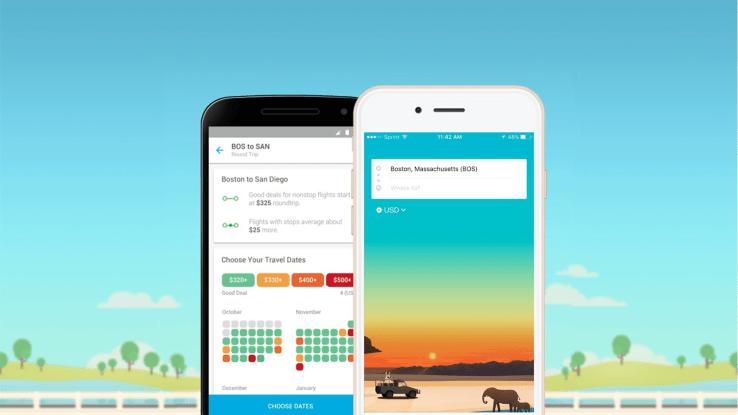hopper best travel flights app of the year