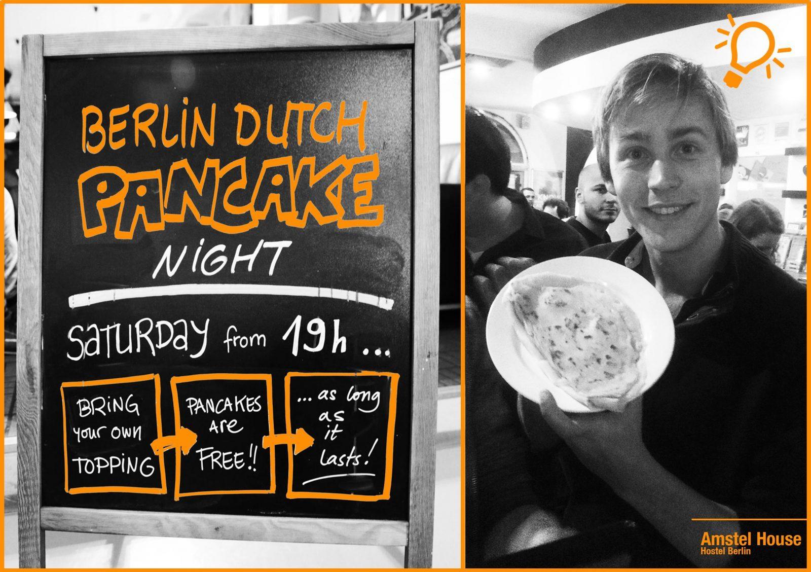 Dutch Pancake Night with Robin Vogelaar