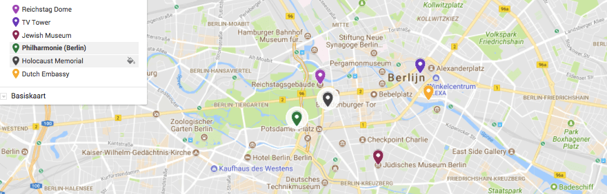 map berlin architecture highlights