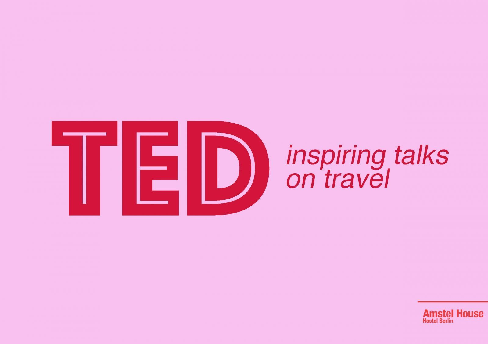 inspiring TED talks on travel