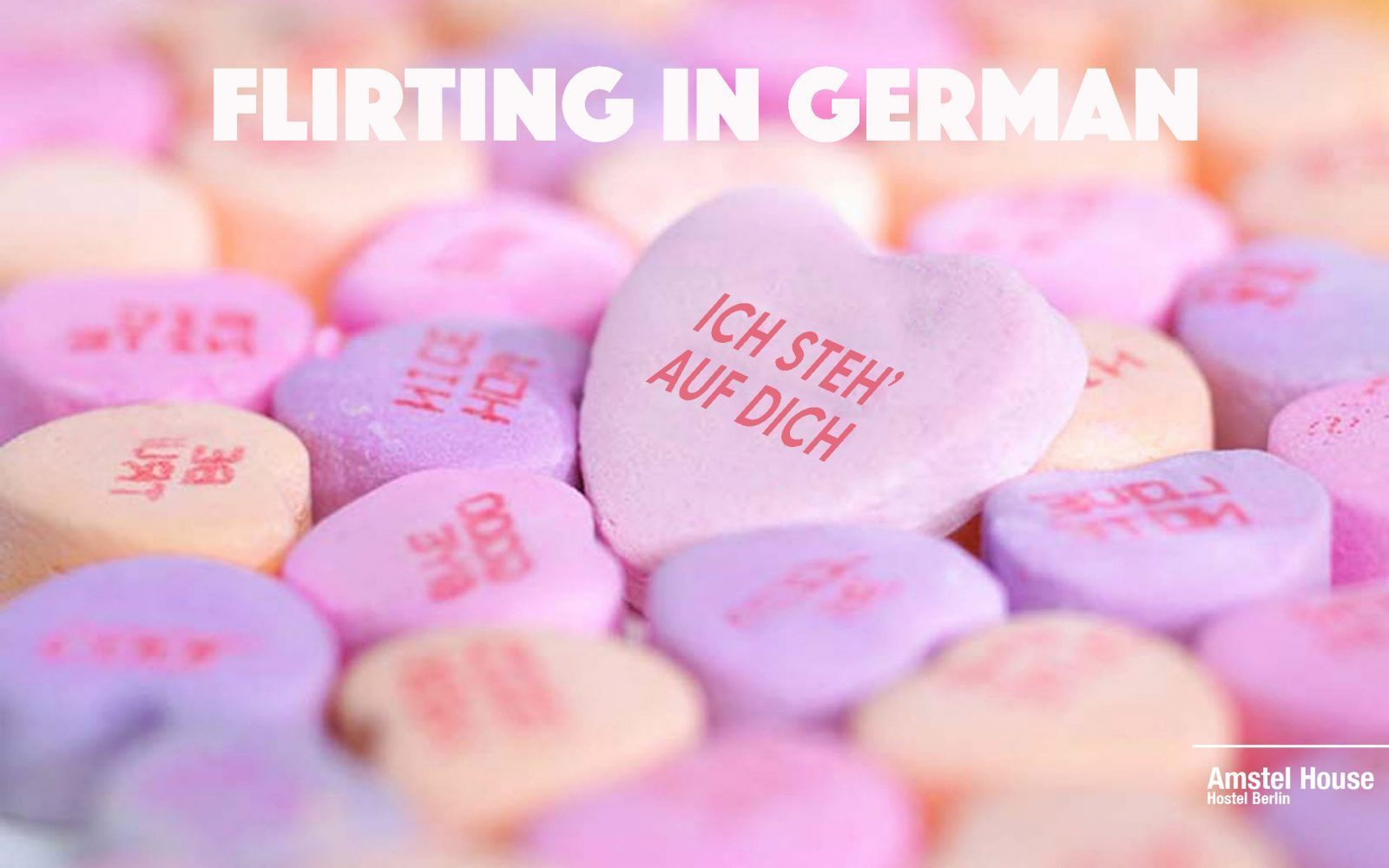 HOW TO FLIRT IN GERMAN - from ice breakers to first dates