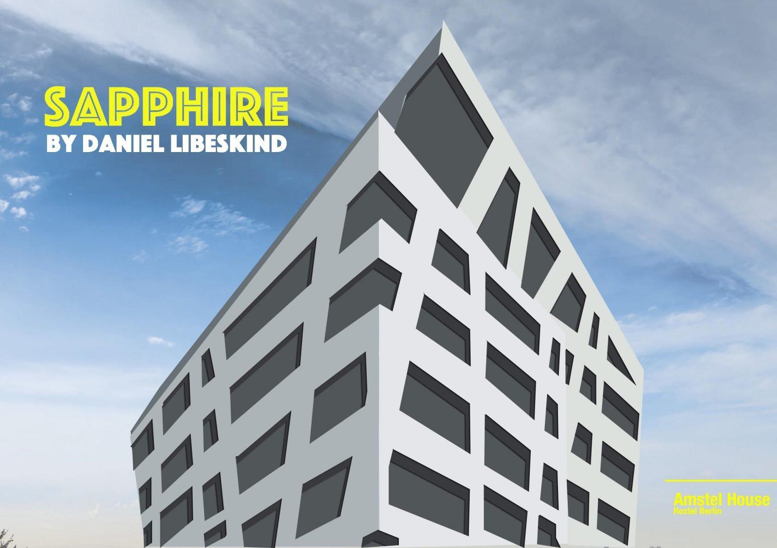 building berlin, sapphire by daniel libeskind