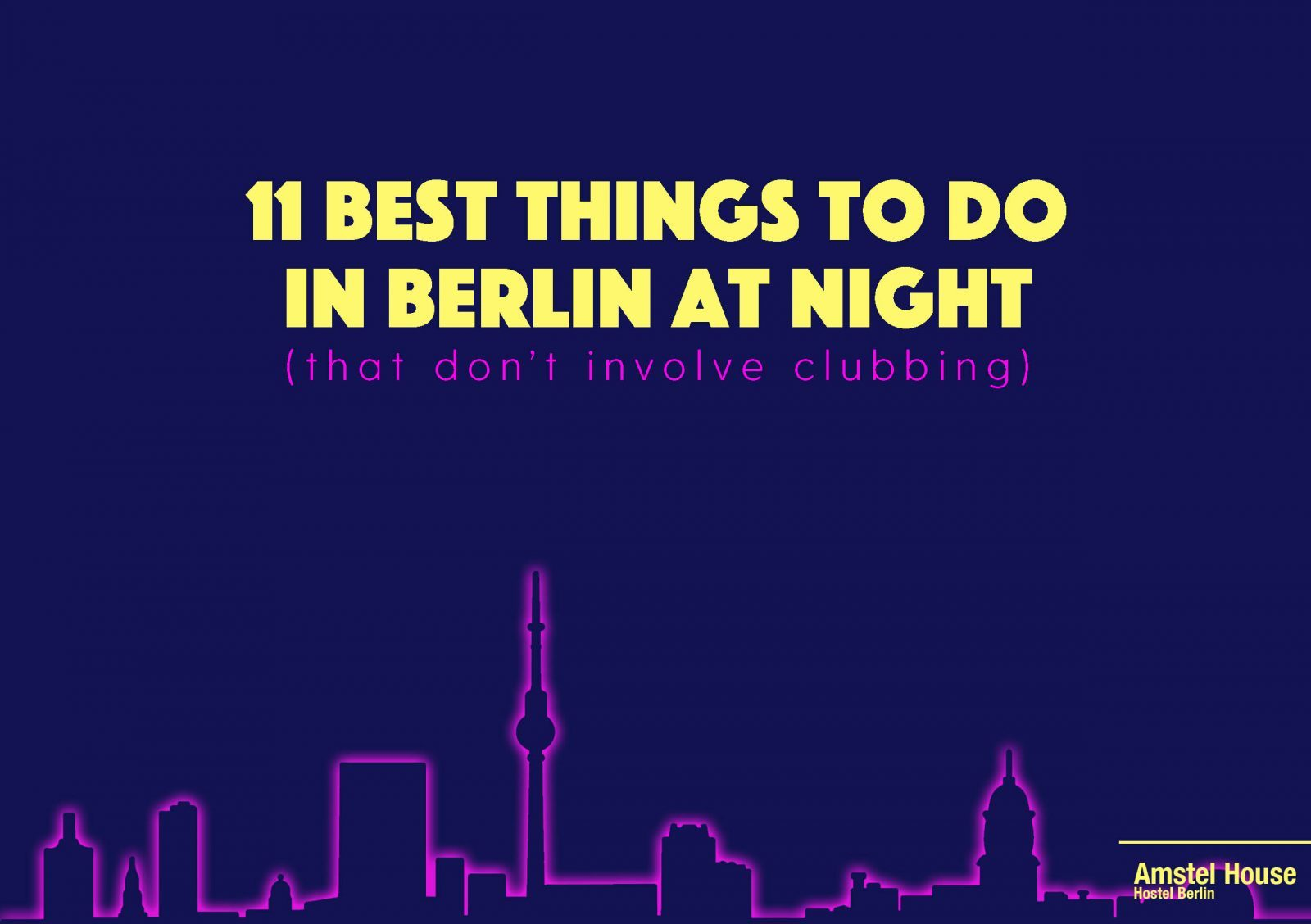 best things to do in berlin at night