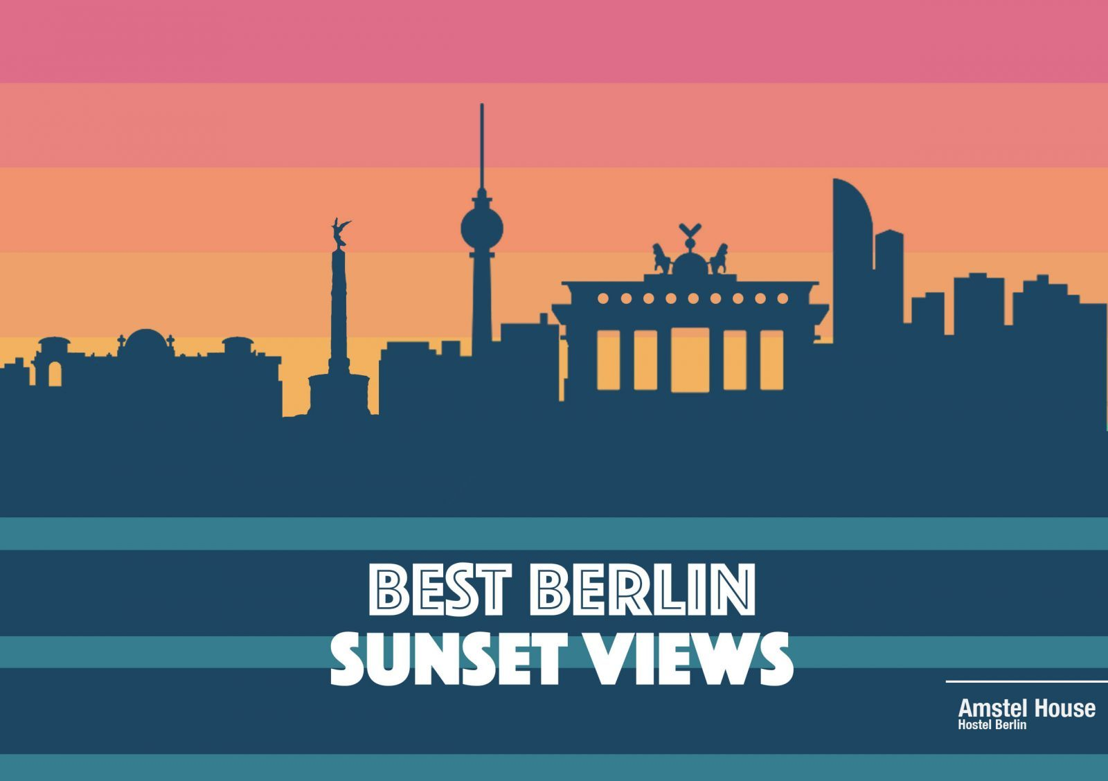 Best sunset views in Berlin