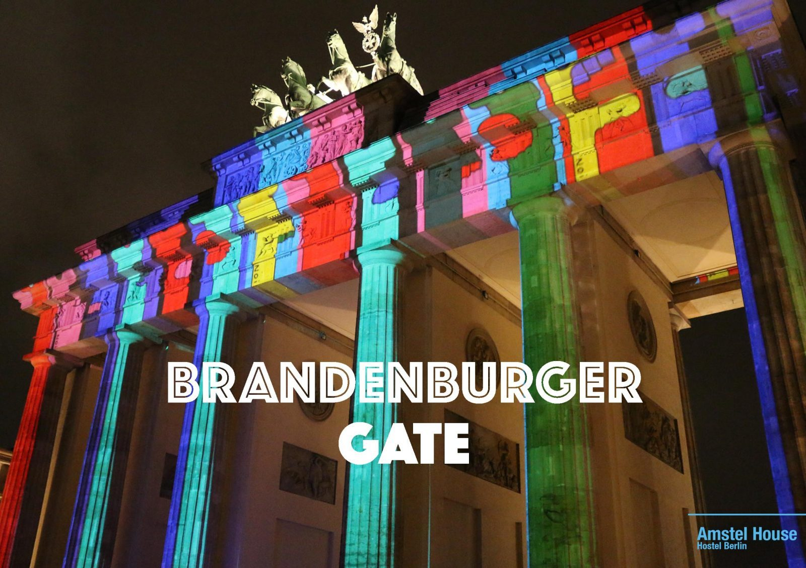 Brandenburger Gate Berlin - 10 facts