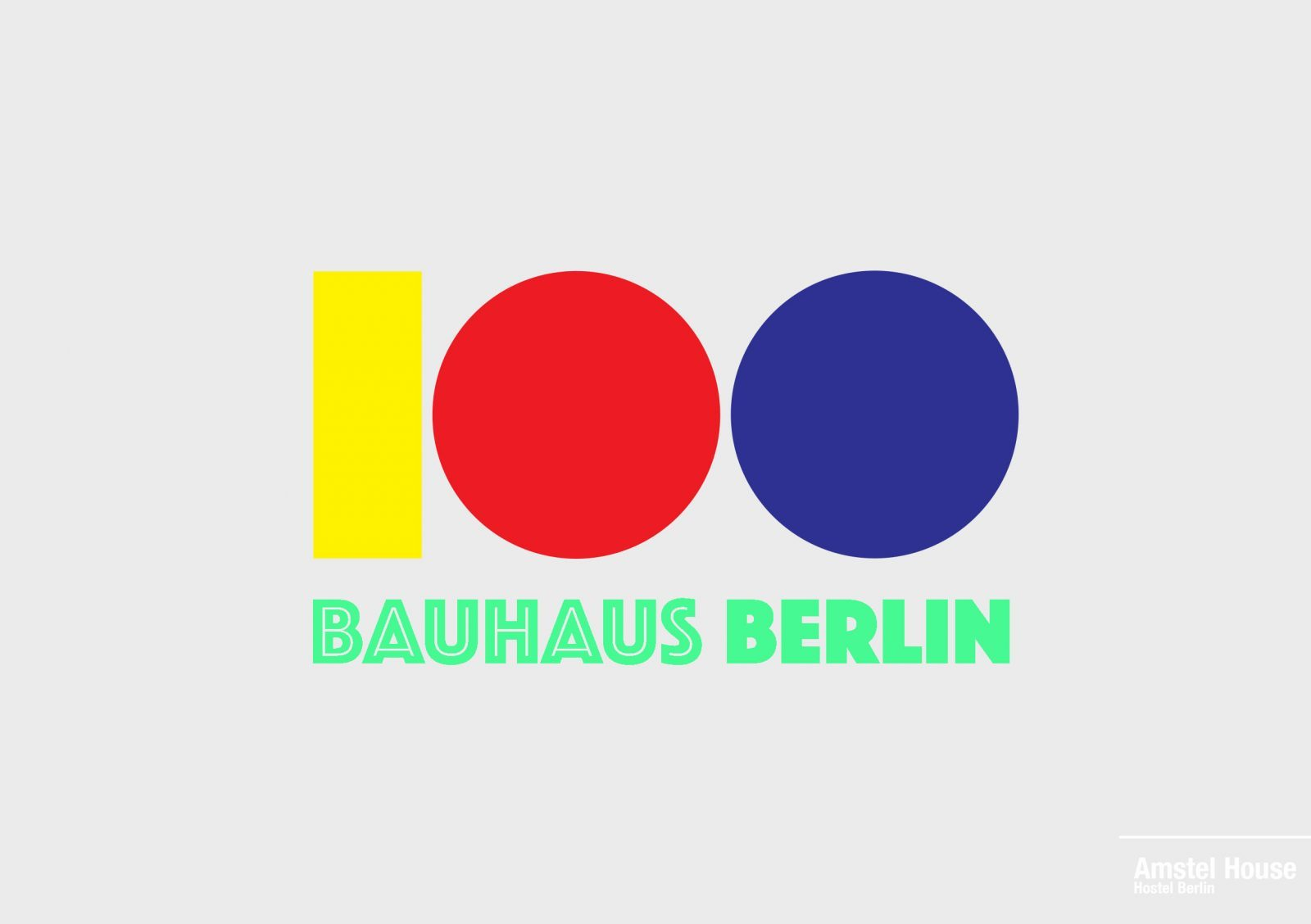 100 years Bauhaus in Berlin