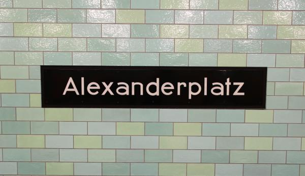 Alexander Platz and other accidentally Wes Anderson Berlin locations