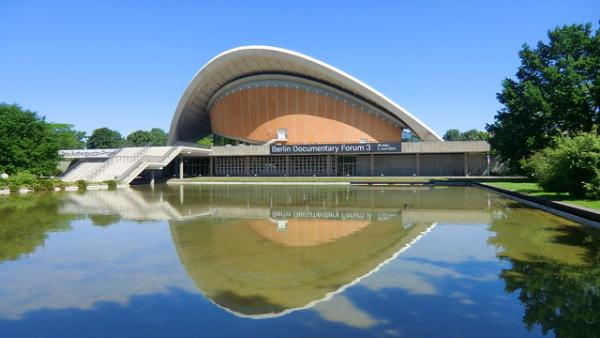 Haus der Kulturen der Welt and other accidentally Wes Anderson Berlin locations