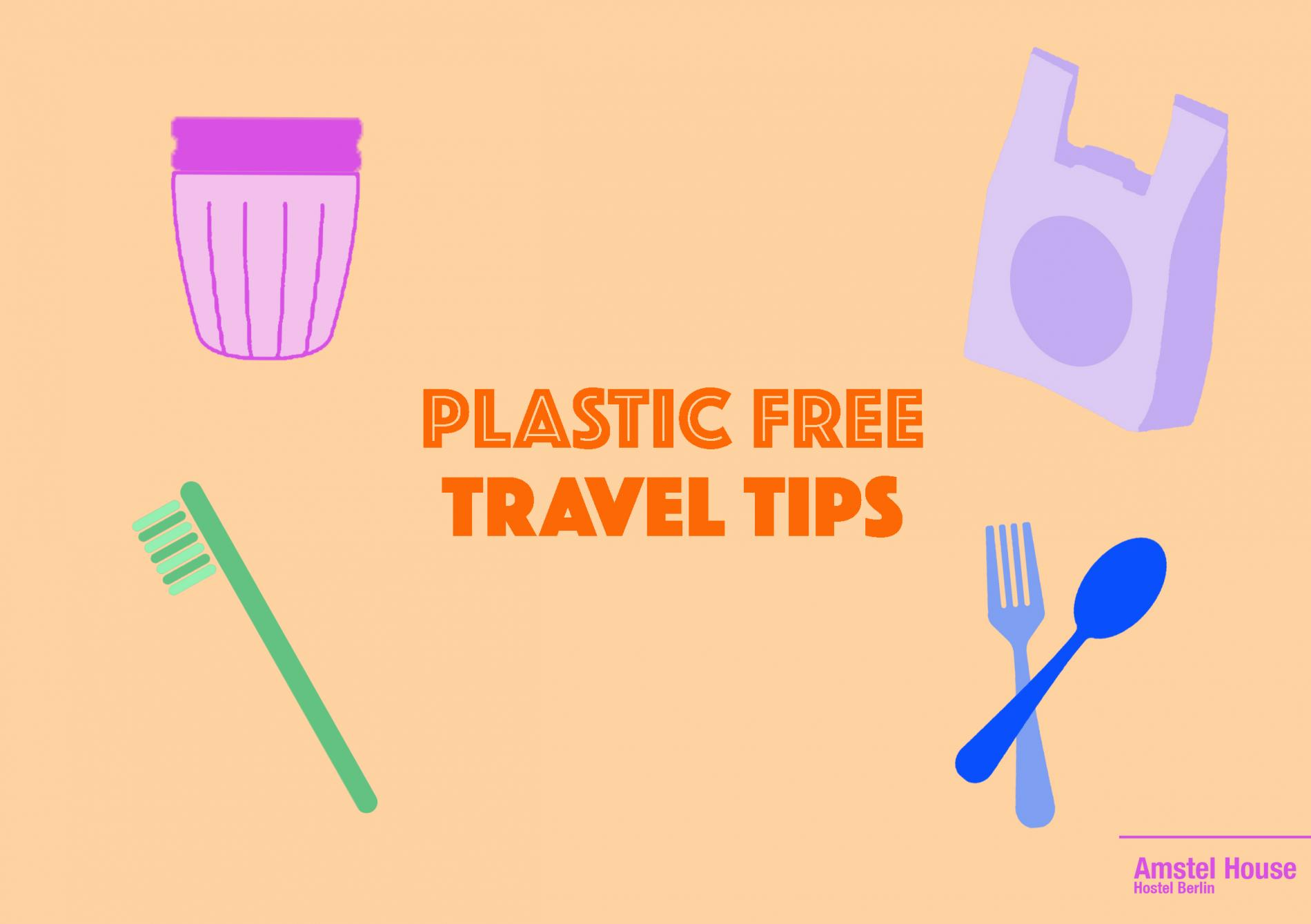 plastic free travel tips
