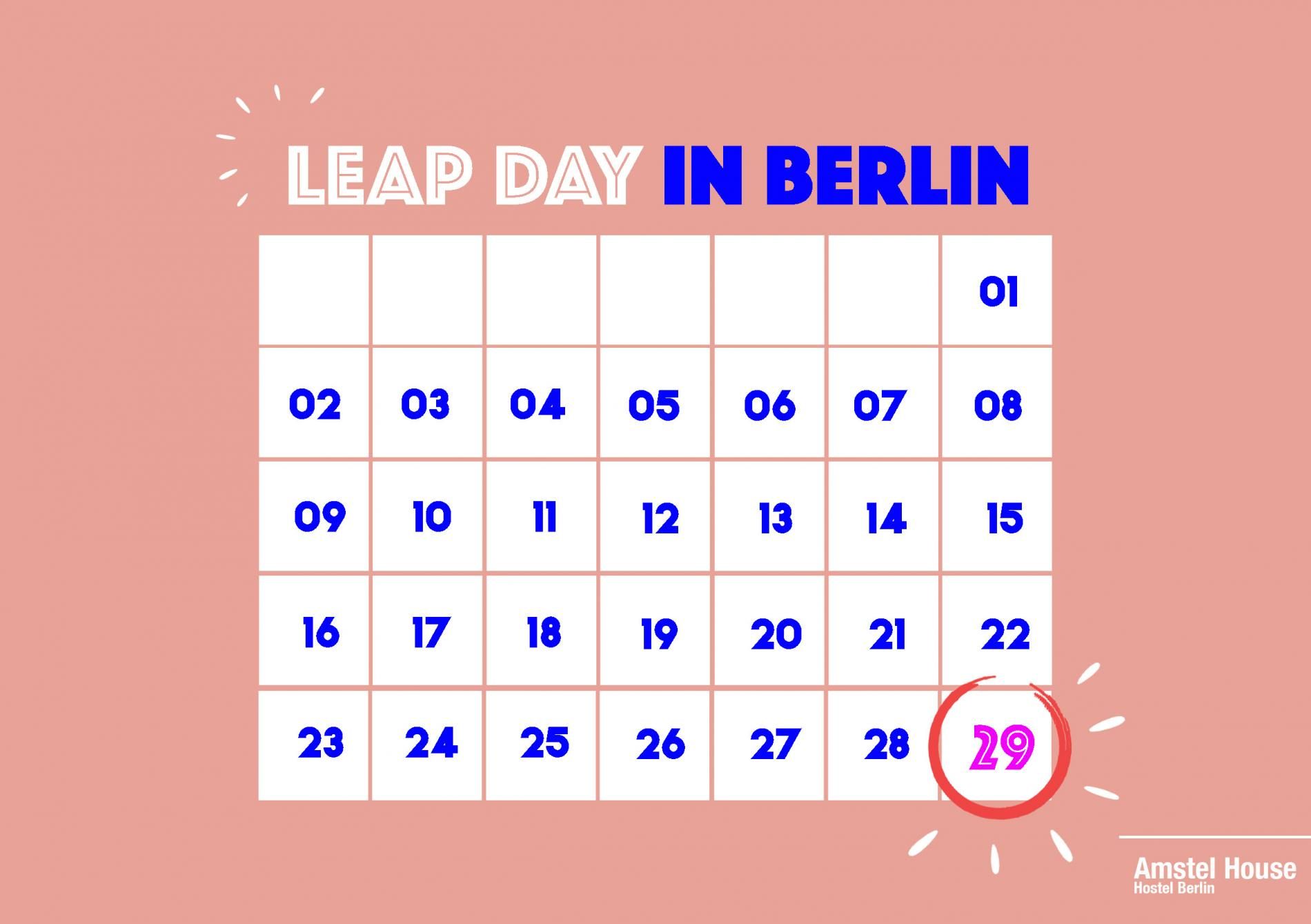 Celebrate Leap Day in Berlin