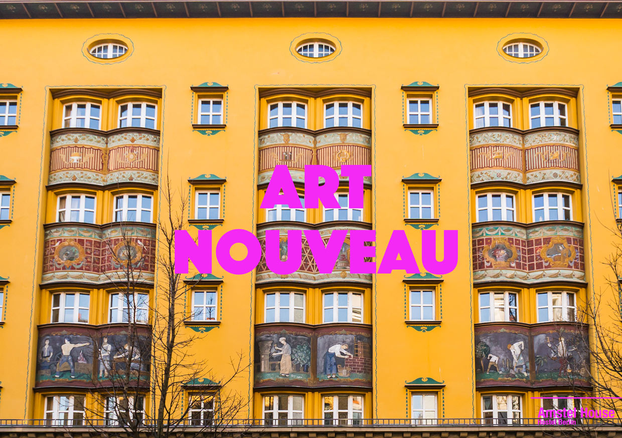 the-most-beautiful buildings in art nouveau style on berlin