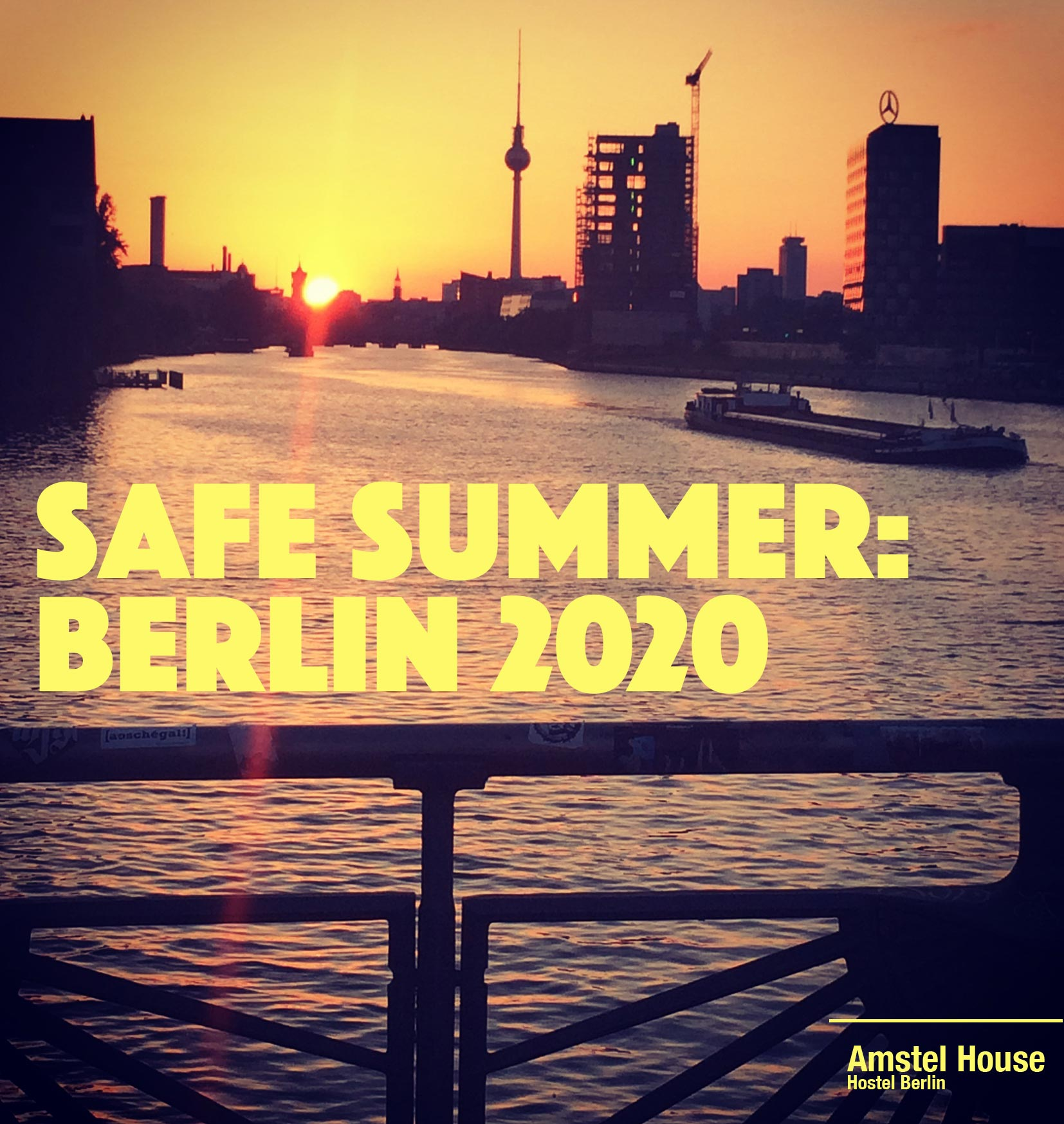 Berlin: a safe place to travel this summer of 2020.
