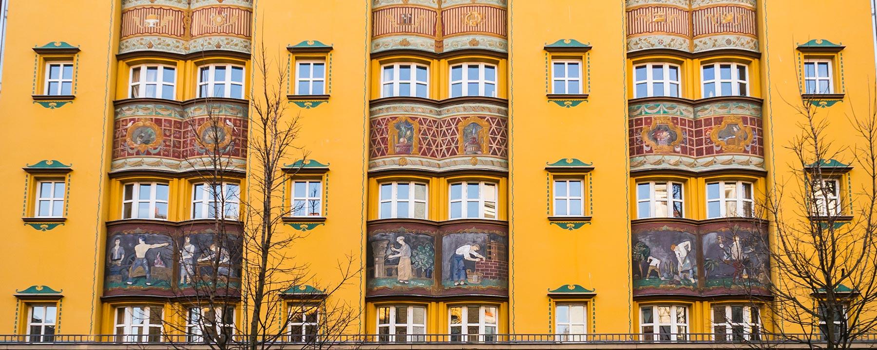 fassade art nouveaustyle berlin