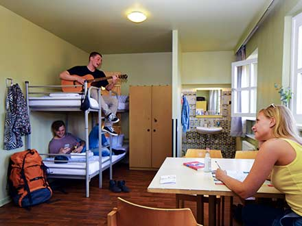 school accommodatie berlijn hostel