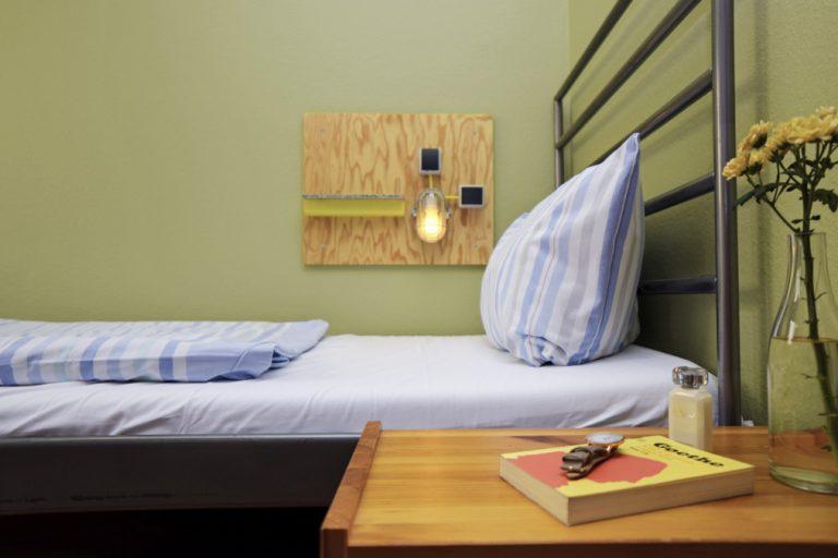 jednoosobowy pokój hostel berlin