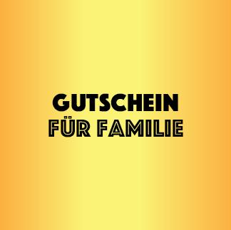 Reise Gutschein Familie